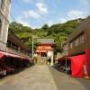 和歌山市へ行ったついでに紀三井寺へ。 海へ迫る山の中腹に朱色の仏閣が目を引き、そんなつもりはなかったが、ぶらりと寄ってみた。 数軒のお土産屋が並ぶ短い参道が終わると、すぐに鮮やかな朱色の山門が見える。 そこから急な石段が […]