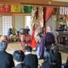平成24年 5月8日  三田市三輪 曹洞宗 天照山 来迎寺 花施食会の模様です。