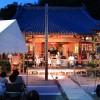 8月24日の地蔵盆の風景です。 三田市三輪 曹洞宗 天照山 来迎寺境内にて